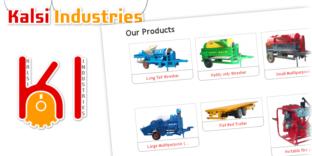 """""""Our products"""" menu allows to browse products based on categories."""